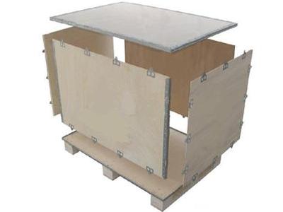 拼装钢带木箱